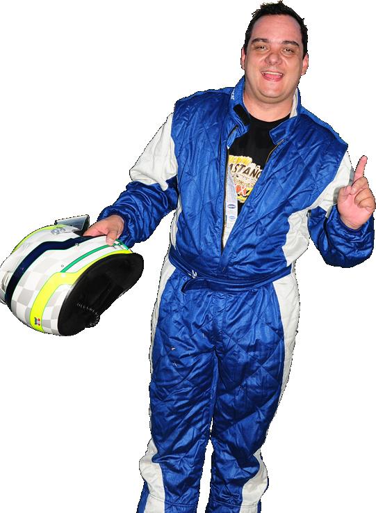 Pilot de corrida Binho Street